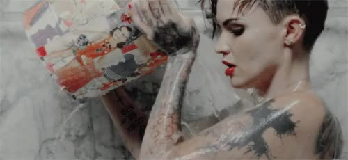 Watch this ruby rose GIF on Gfycat. Discover more break free, carly's, gifs, original, ruby rose, yt GIFs on Gfycat