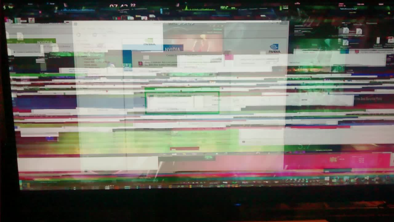 pcmasterrace, What happened when I overclocked my monitor too far (reddit) GIFs