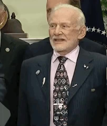 Watch and share Buzz Aldrin GIFs and Vavra GIFs on Gfycat