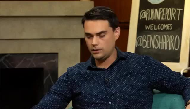 Watch and share Ben Shapiro On Gay Marriage, Gun Control, And Piers Morgan GIFs on Gfycat