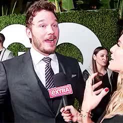 Watch and share Chris Pratt GIFs and Gq Magazine GIFs on Gfycat