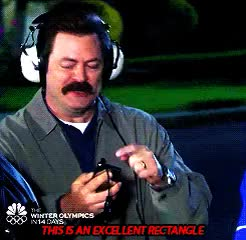 Watch and share Nick Offerman GIFs and Tom Haverford GIFs on Gfycat