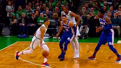Watch Jayson Tatum — Boston Celtics GIF by off-hand on Gfycat. Discover more 101618 GIFs on Gfycat