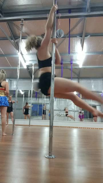 Watch and share Pole Bunny GIFs by hazelyoung on Gfycat