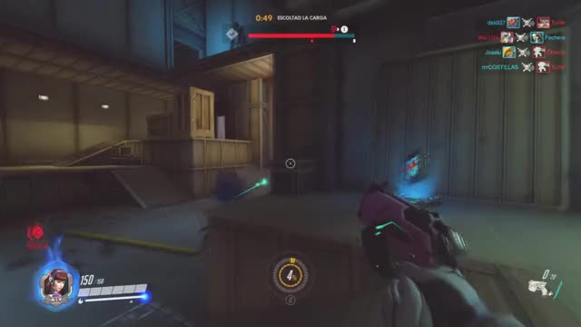 Watch and share Overwatch GIFs by mistercostillas on Gfycat