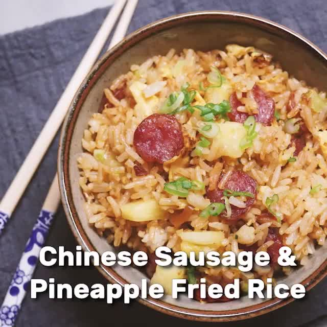 Watch Chinese sausage pineapple fried rice GIF by Ice or Rice (@iceorrice) on Gfycat. Discover more Chinese Sausage, GIF Brewery, Square GIFs on Gfycat