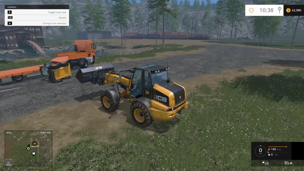 farmingsimulator, Only in farmsim can you do this accidentally (reddit) GIFs