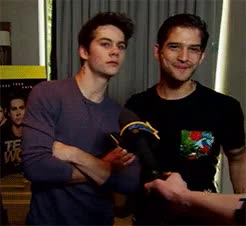 Watch and share Dylan O'brien GIFs and Tyler Posey GIFs on Gfycat