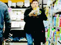 Watch and share Grocery Shopping, Groceries, Supernatural, Panic GIFs on Gfycat