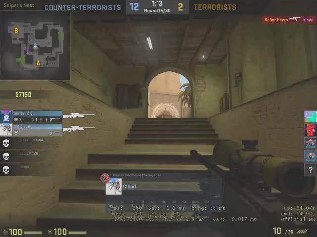 Watch and share Counter-strike Global Offensive 01.26.2018 - 22.17.11.11.DVRTrim GIFs on Gfycat