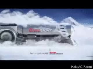 """Watch and share Coors Light """"El Train"""" Starring Gil Christner GIFs on Gfycat"""