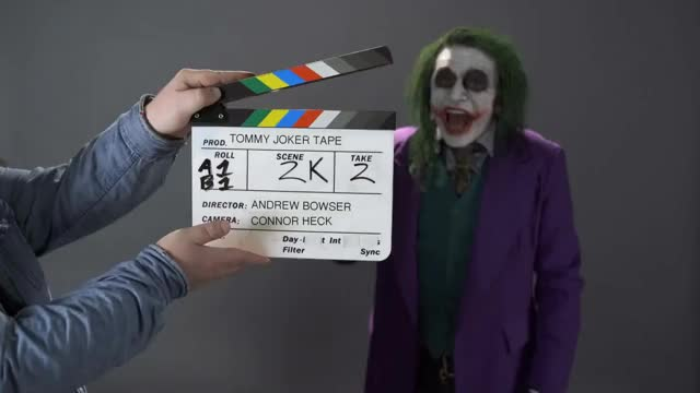 Watch Tommy Wiseau's Joker Audition Tape (Nerdist Presents) GIF on Gfycat. Discover more audition, batman, comedy, fvid, nerdist GIFs on Gfycat