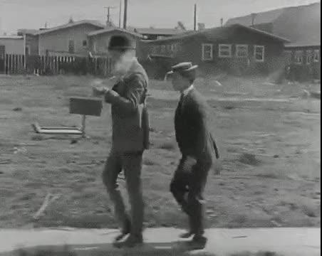 Watch and share Buster Keaton Getting A Smoke GIFs on Gfycat