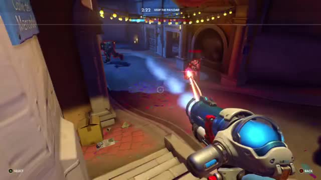 Watch and share Overwatch GIFs and Team Kill GIFs by shakra on Gfycat