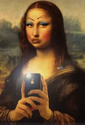 Watch and share Mona Lisa GIFs and Celebs GIFs on Gfycat