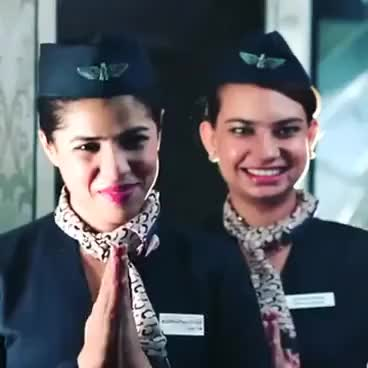 Watch and share Stewardess GIFs and Airline GIFs on Gfycat