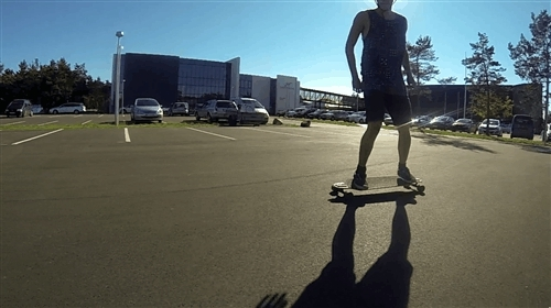 longboarding, Working on my new mooooves (Parking lot session) (reddit) GIFs