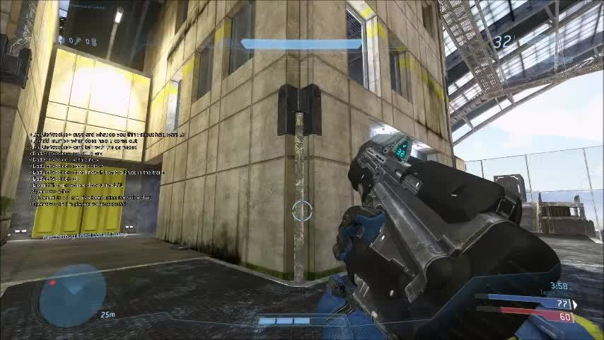 HaloOnline, haloonline, I love catching you guys off guard with this jump and I'm always asked how it's done. Watch and learn. (reddit) GIFs