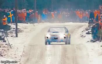 Watch and share Rally Car GIFs on Gfycat