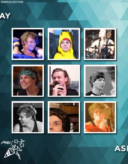 Watch and share 5 Seconds Of Summer GIFs and Ashton Irwin Bday GIFs on Gfycat