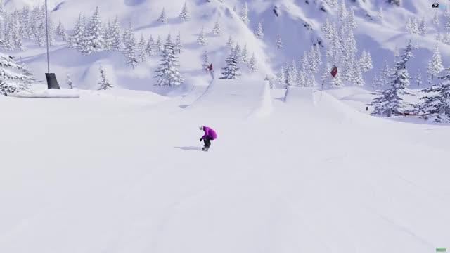 the snowboard game method flip