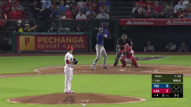 Watch and share Los Angeles Angels GIFs and Texas Rangers GIFs by chad13stewart on Gfycat