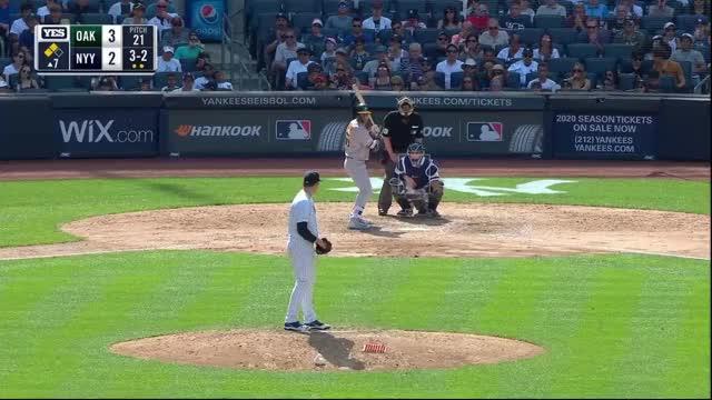 Watch and share Oakland Athletics GIFs and Baseball GIFs on Gfycat