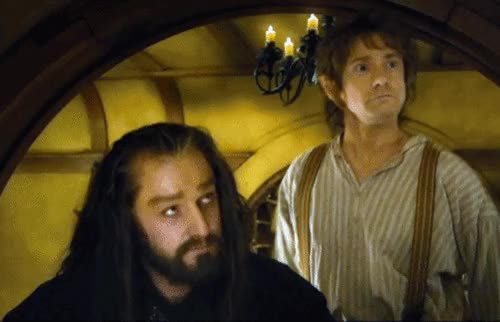 Watch and share An Unexpected Journey Thorin Oakenshield Gif GIFs on Gfycat