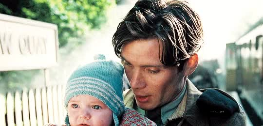 Watch and share Cillian Murphy GIFs and Baby GIFs on Gfycat