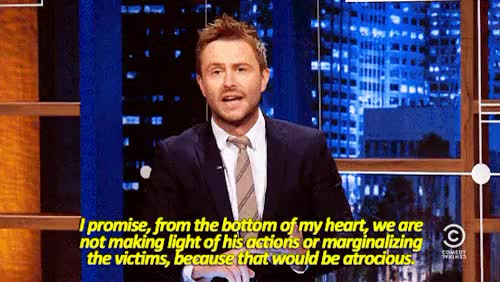 Watch and share Chris Hardwick GIFs and At Midnight GIFs on Gfycat