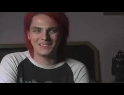 Watch and share Gerard Way GIFs on Gfycat