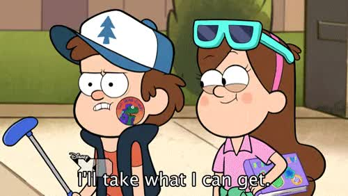 Watch gif Stickers gravity falls extraordinary dipper pines mabel pines frolic GIF on Gfycat. Discover more related GIFs on Gfycat