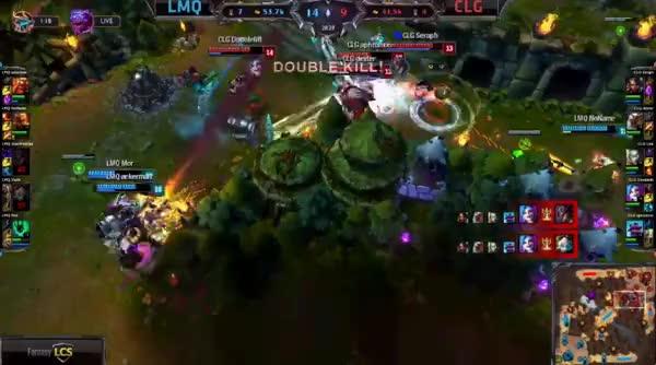 DoubleLift first quadra kill vs. LMQ pt2