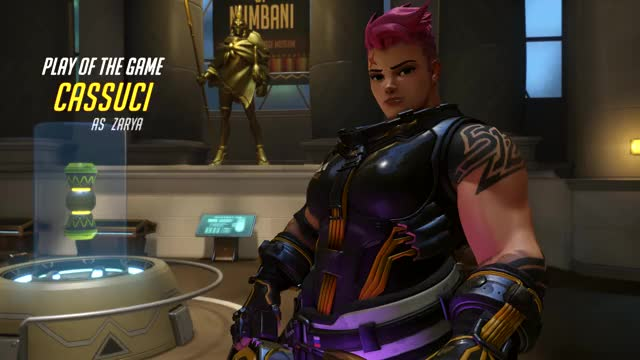 Watch and share Overwatch GIFs and Zarya GIFs on Gfycat