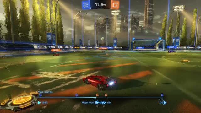 Watch side GIF by Erik (@cmdctrll) on Gfycat. Discover more rocket league GIFs on Gfycat