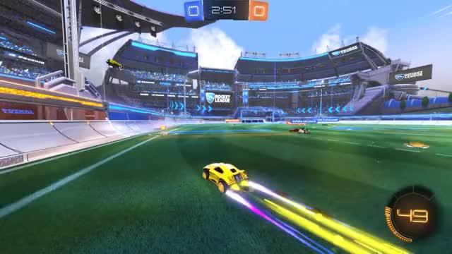 Watch Goal 1: Arcane GIF by Gif Your Game (@gifyourgame) on Gfycat. Discover more Bad Panda, BadPanda, Rocket League, RocketLeague GIFs on Gfycat