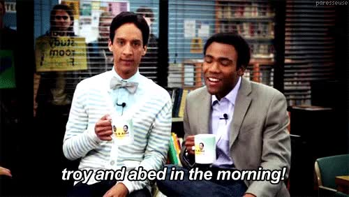 Watch and share Troy And Abed GIFs on Gfycat