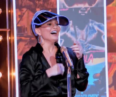 Watch this aww GIF by The GIF Smith (@sannahparker) on Gfycat. Discover more aww, awww, awwwww, chrissy teigen, lip sync battle, my heart GIFs on Gfycat