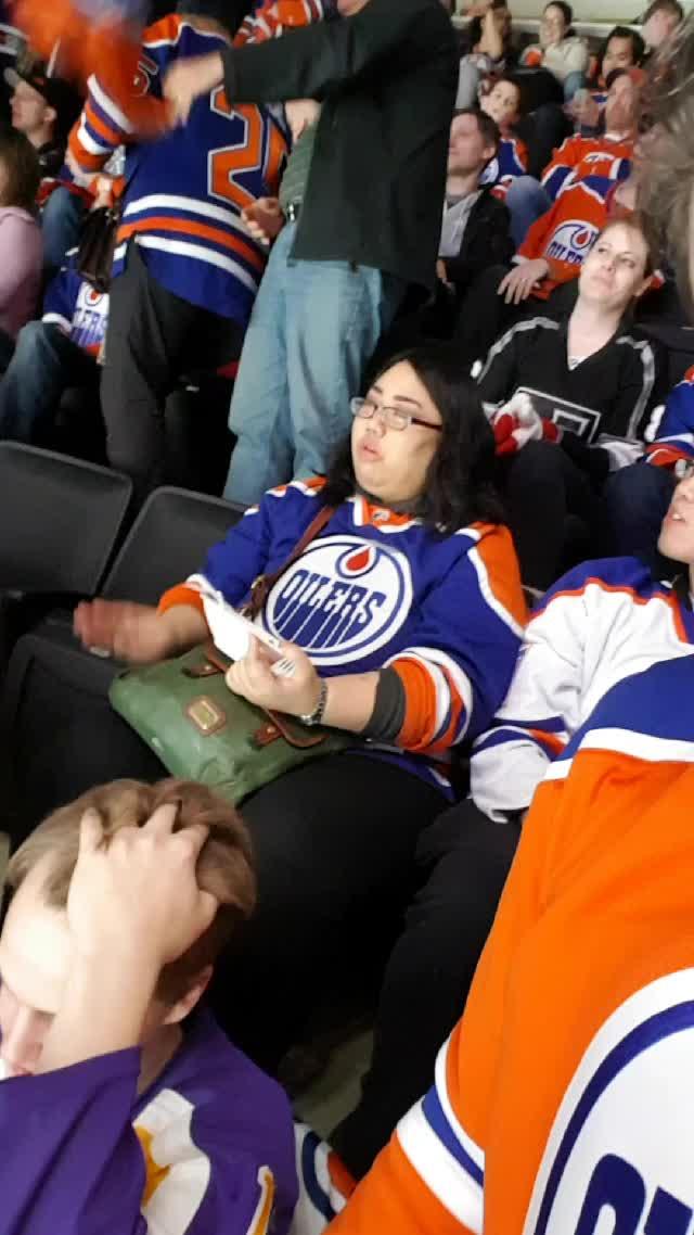 Edmonton, Oilers, OilersClinch, edmontonoilers, kings, letsgooilers, losangeles, orangecrush, 2-1 #Oilers GIFs