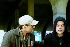 Watch and share Christian Slater GIFs and Mrrobotedit GIFs on Gfycat