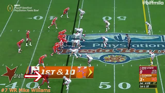 Watch and share Mike Williams  (back Shoulder/catch Radius) GIFs by Sean McKaveney on Gfycat