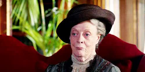 Watch and share Dowager Countess, Maggie Smith, Downton Abbey GIFs GIFs on Gfycat