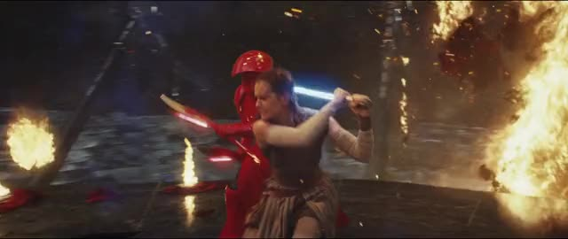 Watch and share Star Wars The Last Jedi GIFs and Daisy Ridley GIFs by mikearrow on Gfycat