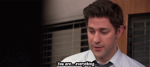 john krasinski, the office,  GIFs