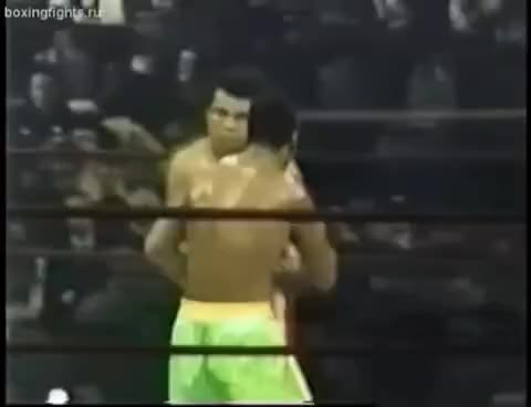 Watch Muhammad Ali vs Joe Frazier   I: Round 15 (Knockdown.) GIF on Gfycat. Discover more related GIFs on Gfycat