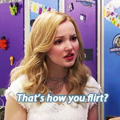 Watch and share Dove Cameron GIFs and Flirt GIFs on Gfycat
