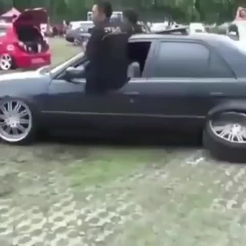 Watch and share I Got That Hovercraft Fitment, Bro! Shitty Car Mods GIFs on Gfycat