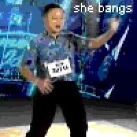 Watch and share William Hung You Bang She Bangs American Idol GIFs on Gfycat
