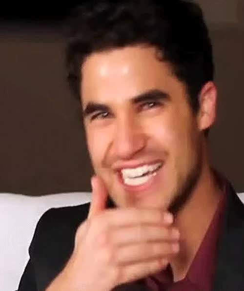 Watch and share I Had A Long Day At Work, So Here Are Some Gifs Of Darren Criss Laughing… GIFs on Gfycat