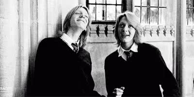Watch and share Fred & George Dancing GIFs by dominvo on Gfycat